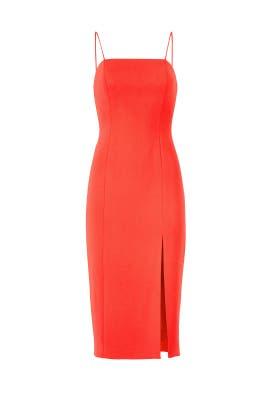 Red Skyler Dress by Jay Godfrey