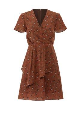 Rust Leopard Print Dress by Slate & Willow