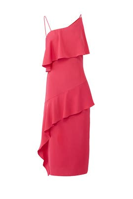Pink No Love Midi Dress by Keepsake