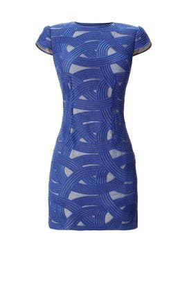 Azure Swirl Mini by Robert Rodriguez Collection