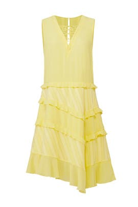 Yellow Bitter Sweet Dress by Three Floor