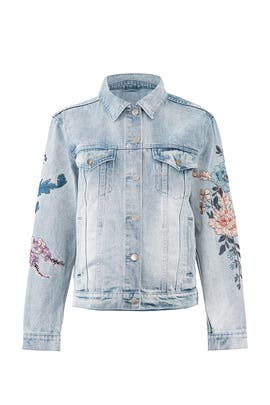 Wild Flower Denim Jacket by MINKPINK