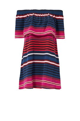 Striped Arla Dress by Joie