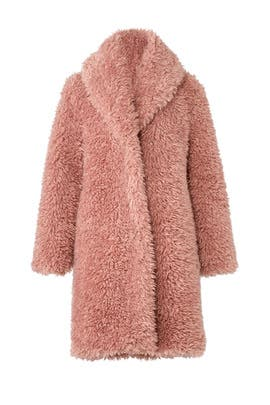 Encounter Faux Sherpa Coat by somedays lovin