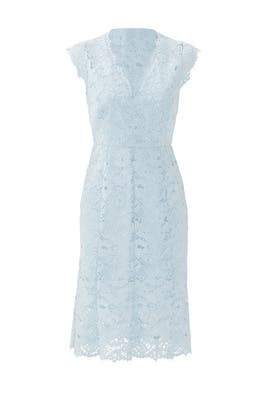 Ice Blue Meredith Dress by Shoshanna