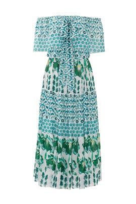 Midi Florrie Chiffon Dress by Temperley London