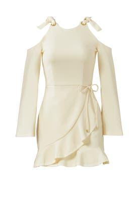 Yellow Billie Tie Dress by Rebecca Vallance
