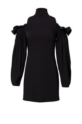 Black Azha Dress by AQ/AQ