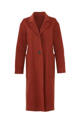 Sienna Long Lapel Coat by Becken