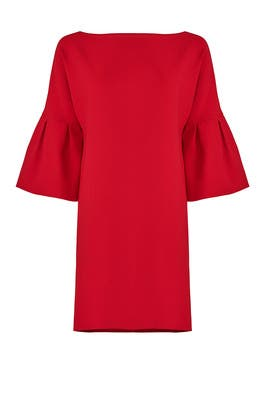 Valentina Red Dress by Badgley Mischka