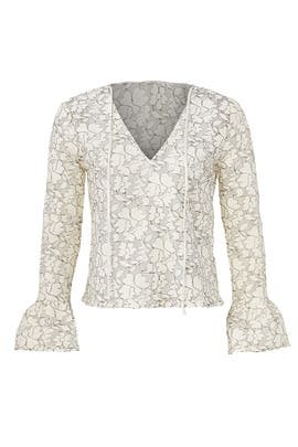 Ivory All Over Lace Top by Endless Rose