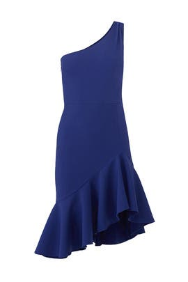 Blue Rollins Dress by LIKELY