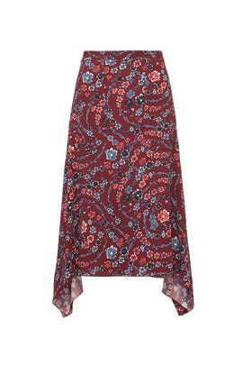 Floral Ribbons Skirt by See by Chloe