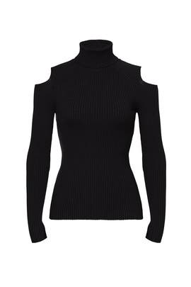 Black Jemliss Turtleneck by Theory
