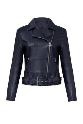Navy Maria Jacket by BB Dakota
