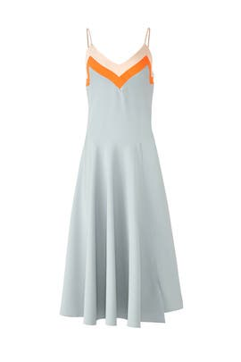 Cloud Colorblock Midi Dress by Milly