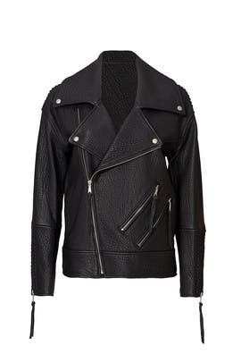 Black Brutus Jacket by Rebecca Minkoff