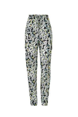 Floral Drawstring Pants by See by Chloe