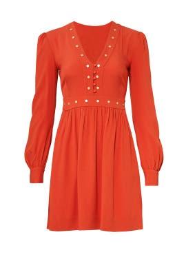 Orange Neda Dress by Rachel Zoe