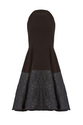 Black Sparkle Hem Dress by Slate & Willow
