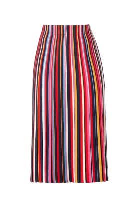 Ellis Striped Skirt by Tory Burch