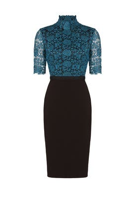 Teal Jena Dress by CATHERINE DEANE