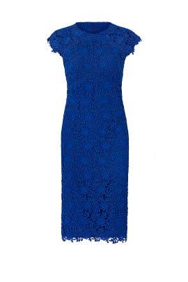 Blue Jesslyn Dress by Shoshanna