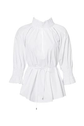 White Windsor Shirt by Acler