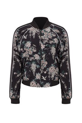 Floral Mace Jacket by Joie