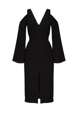 Cold Shoulder Dress by Keepsake