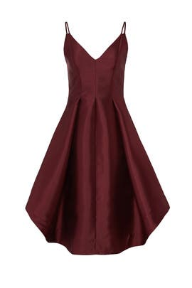Fig Asymmetrical Dress by Keepsake