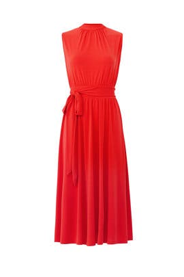 Red Mindy Dress by Leota