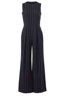Navy Elani Jumpsuit by L.K. Bennett