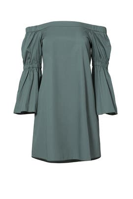Green Denali Dress by Tibi