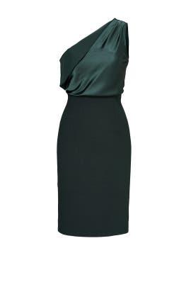Green Maria Dress by INTER-PRET.US