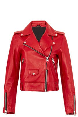 Baya Leather Jacket by Mackage