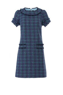 Plaid Tweed Dress by Sail to Sable
