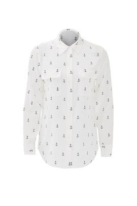 Anchors Away Signature Button Down by Equipment