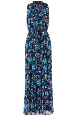 Midnight Floral Maxi by Jason Wu Grey