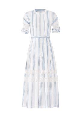 Striped Eden Dress by LoveShackFancy