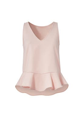Pink Jocelyn Top by Paper Crown