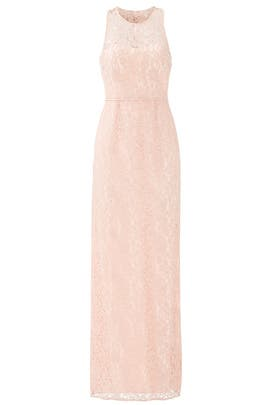 Pearl Pink Harper Gown by Slate & Willow