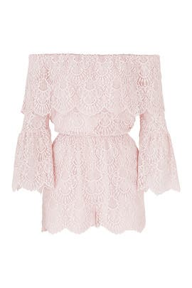 Lace Kennedy Romper by BB Dakota