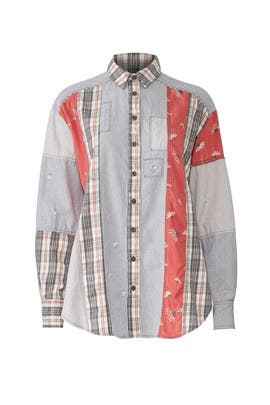 All Patched Up Button Down by Free People