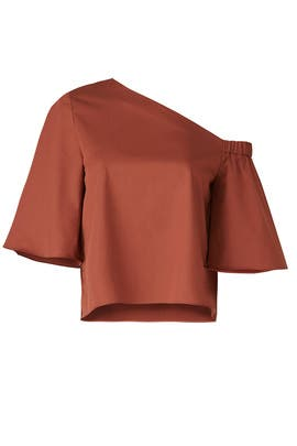 Ginger Bell Sleeve Top by Tibi