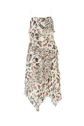 Painterly Floral Dress by Jason Wu Grey