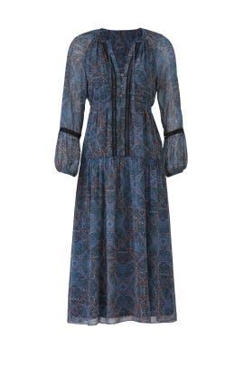 Monarch Handkerchief Dress by ella moss