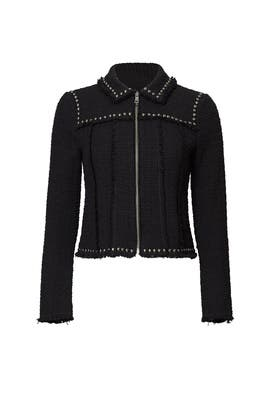 Black Studded Jacket by Rebecca Taylor