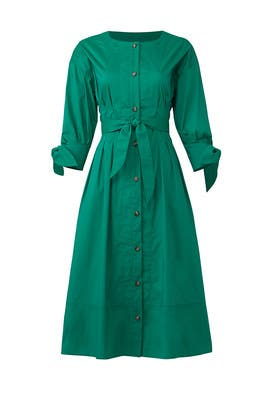 Emerald Shirtdress by Jason Wu Grey