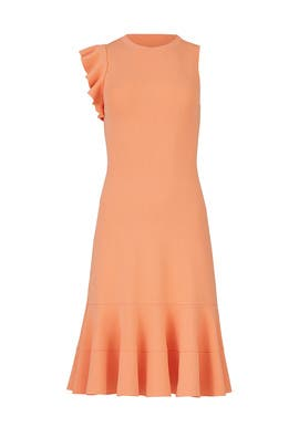 Shoulder Ruffle Dress by Proenza Schouler